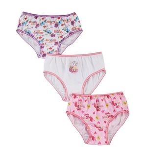 My little pony girls panty pack